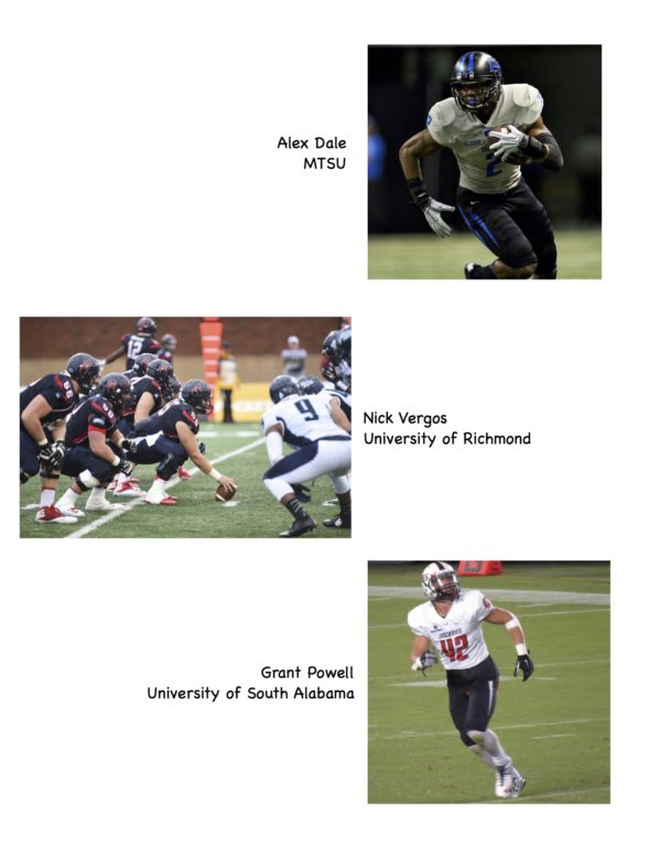 Athletes Page 2b