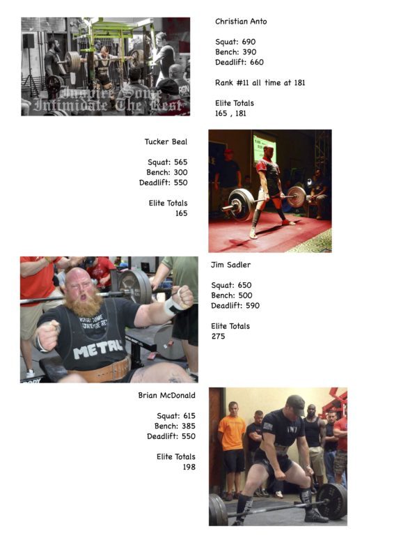 Powerlifters Page 1