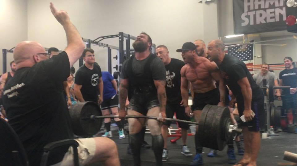 Powerlifting: Be involved or shut up.